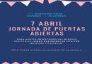 JORNADA DE PUERTAS ABIERTAS – 7 DE ABRIL