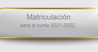 !!! Este año la matriculación será telemática !!!